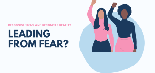 In fear based leadership, leading from fear can create a toxic culture in which people play safe, avoid mistakes and lay low in effect creating an organisation that does not grow due to mediocre performance and unrealised potential